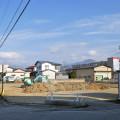 南高田の工事始まりました!